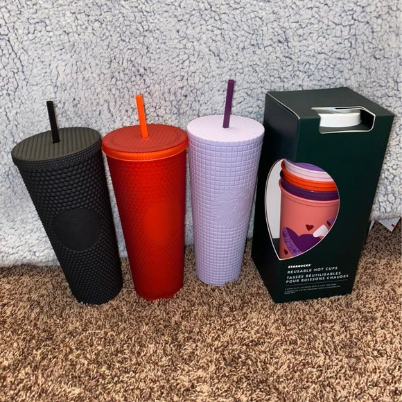 !!!SOLD!!! Starbucks Valentine's Tumbler Set 2021